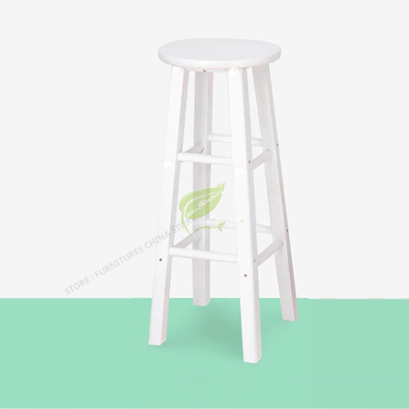 Bar Tabouret De  Wooden Bar Chair Bar Furniture Bar Stool Seat Make Up Chair Dotomy Salon Furniture Solid Wood Fashion