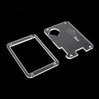Acrílico transparente claro nextion caso capa para nextion reforçada 3.5 3.2 2.8 2.4 polegada módulo lcd display toque hmi rcmall