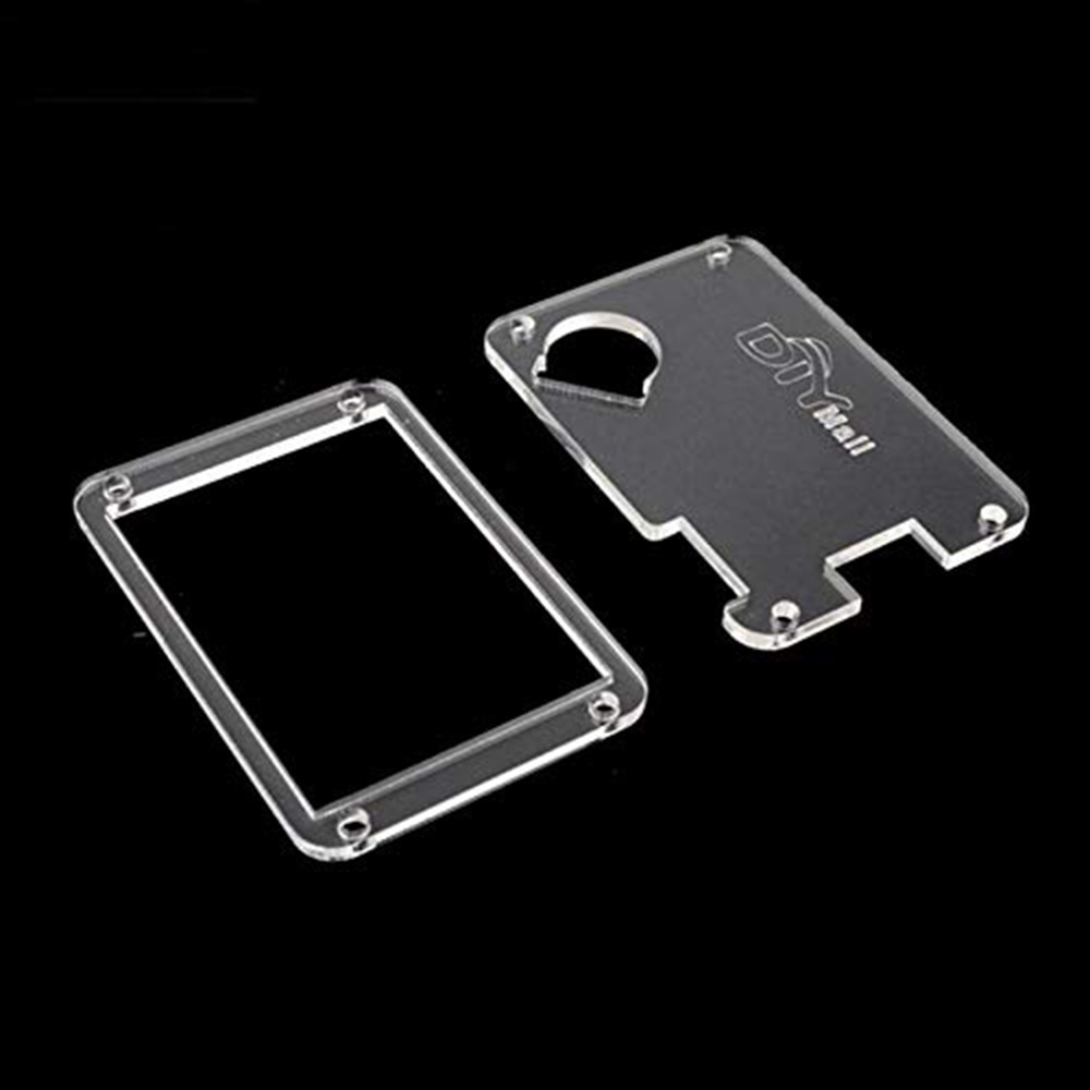 Acrylic Transparent Clear Nextion Case Cover For Nextion Enhanced 3.5 3.2 2.8 2.4 Inch HMI Touch Display LCD Module RCmall