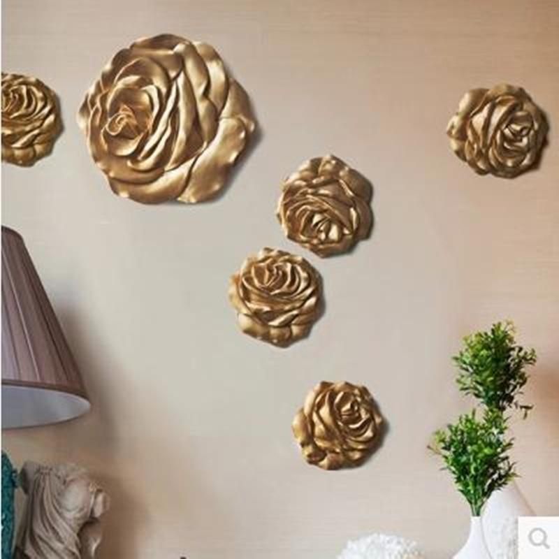 Nástěnné samolepky, krásné růže a slunce květiny, domácí kancelář nástěnné dekorace řemesla, svatební dekorace