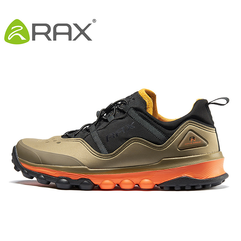 RAX Outdoor Breathable Hiking Shoes Men Lightweight Walking Trekking Wading Shoes Sport Sneakers Men Botas Outdoor Sneakers Men