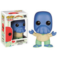 Exclusive FUNKO POP Official Futurama Alternate Universe Blue Zoidberg Vinyl Action Figure Collectible Model Toy In Stock