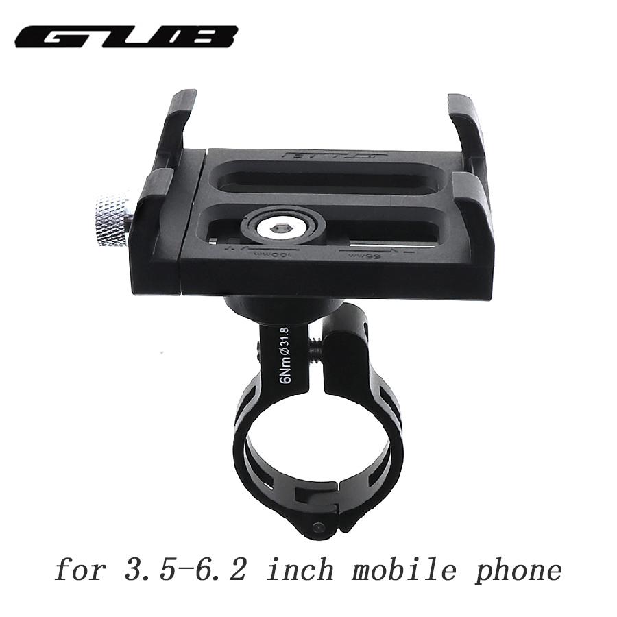 GUB PLUS 3 Cycle Mobile Phone Support 360 Degrees Rotatable And Convenient Cell Phone Holder on Handlebar Bicycle Accessories