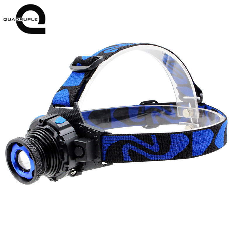 Q5 strong head light built-in rechargeable lithium battery zoom long shot ultra light genuine