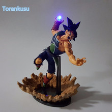 Dragon Ball Z Action Figure Burdock Kamehameha Led Light DIY Display Toy Esferas Del Dragon Burdock Toy DBZ+Light DIY05
