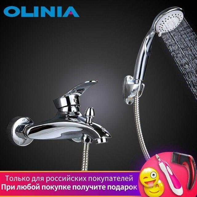 Olinia bathroom shower bathroom shower faucet bathroom shower set bath mixer bath shower mixer shower Shower Faucet Set OL8092