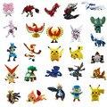 72 unids Acción y Del Juguete Figuras 2-3 cm Pikachu Pokeball