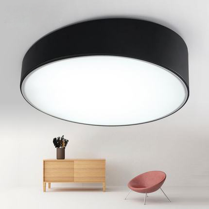 Modern LED Ceiling Lights Acrylic Round White/Black Lampshade White/Warm Light for Living Room Light Fixture Indoor LightingModern LED Ceiling Lights Acrylic Round White/Black Lampshade White/Warm Light for Living Room Light Fixture Indoor Lighting