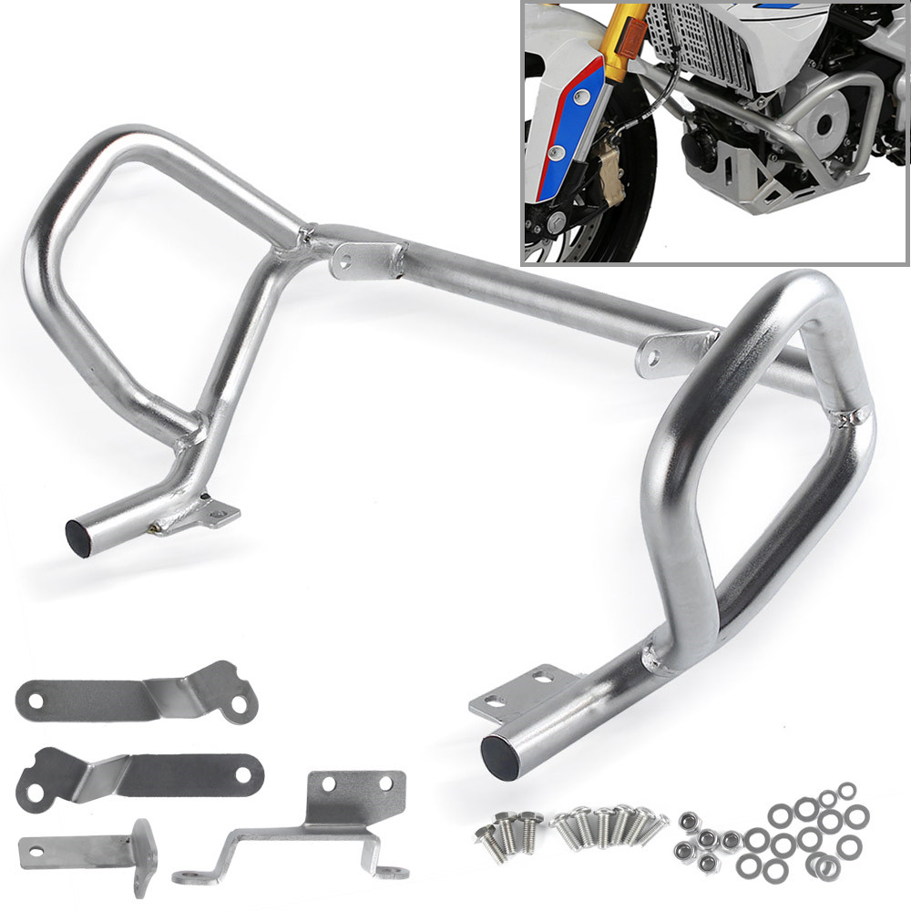 LJBKOALL Lower Stainless Steel Engine Guard Crash bar for 2017-2018 BMW G310GS <font><b>G310R</b></font> image