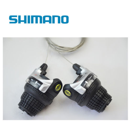 Shimano Cycle / Bike Right Revoshift 6/7 21s Speed Bicycle Twist Grip Gear Shifter SL-RS41