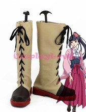 Kabaneri of the Iron Fortress Ayame Yomokawa Cosplay Shoes Boots Custom Made