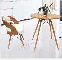 Dubai Luxury Hotel Chair Hotel Restaurant Bar Stool Retail White Black Wood Frame Free Shipping