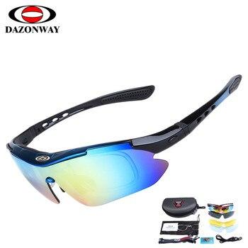 40398333bc OBAOLAY polarizado gafas ciclismo gafas de sol hombres mujeres Marco de  acetato de policarbonato 5 lente UV400 pesca gafas de gafas