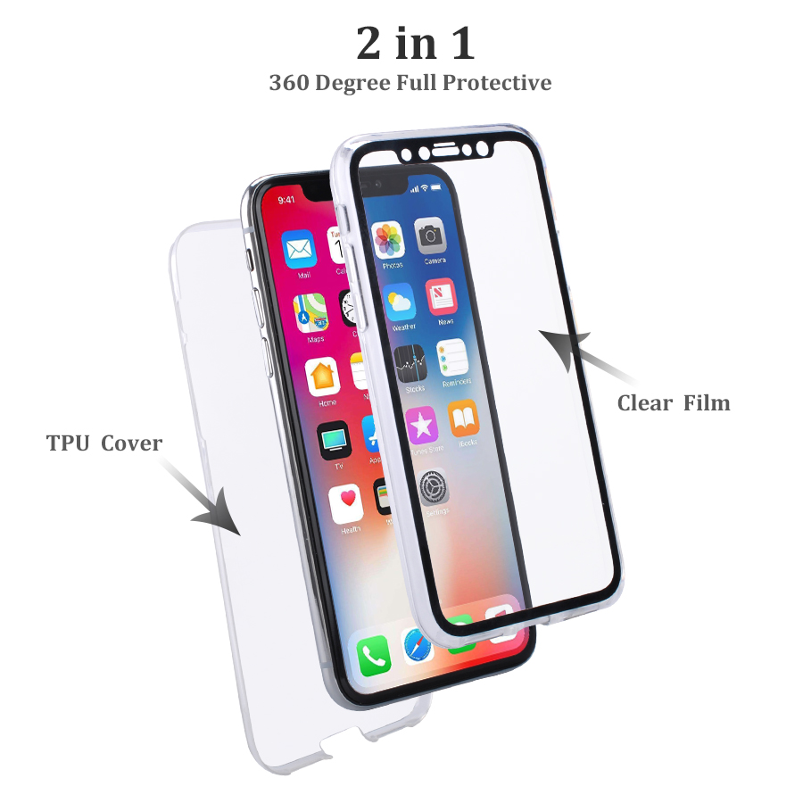 iphone 8 360 case clear