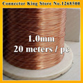 1.0mm *20m / pcs QA-1-130 2UEW Polyurethane enameled Wire Copper Wire enameled Repair