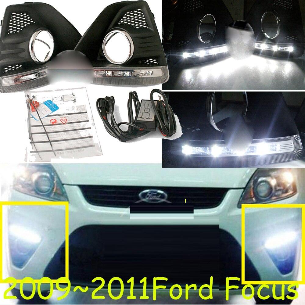 LED авто DRL дневного света Е4 Противотуманные лампы Чехол для 2009 2010 2011 год,светодиодные лампы,свободный корабль,край,куга,экоспорт