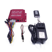 Motorcycle Audio MP3 Player FM Radio Security Remote Support TF Card USB AUX Moto Speakers Host