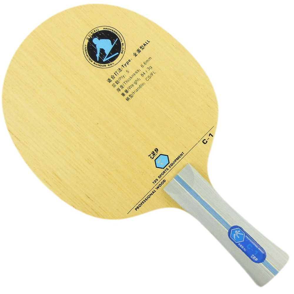 Original 729 C-1 C1 Table Tennis Blade For Beginner And All Round Player Table Tennis Rackets Pure Wood Racquet Sports