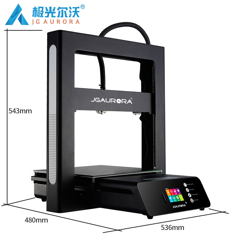 JGAURORA A5S A5 3D Printer Machine Extreme High Accuracy Resume Power Failure Printing DIY KIT Large Build Size 305*305*320mmJGAURORA A5S A5 3D Printer Machine Extreme High Accuracy Resume Power Failure Printing DIY KIT Large Build Size 305*305*320mm