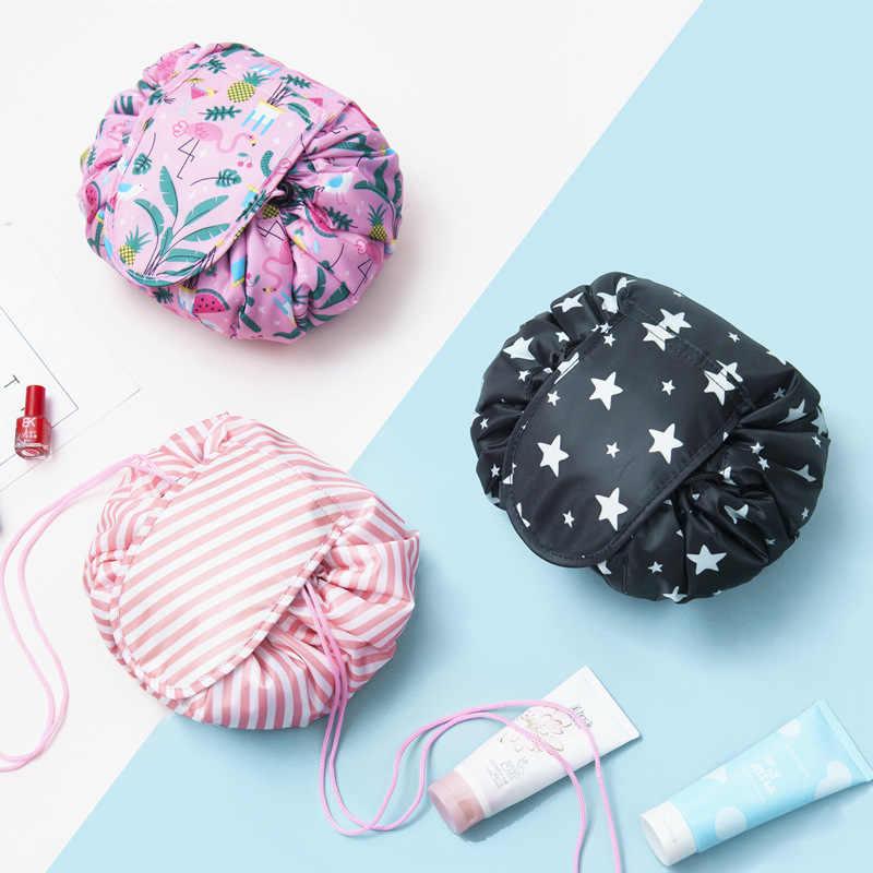 """תוצאת תמונה עבור Women Drawstring Travel Cosmetic Bag Makeup Bag Organizer Make Cosmetic Bag Case Storage Pouch Toiletry Beauty Kit Box OC471"""""""