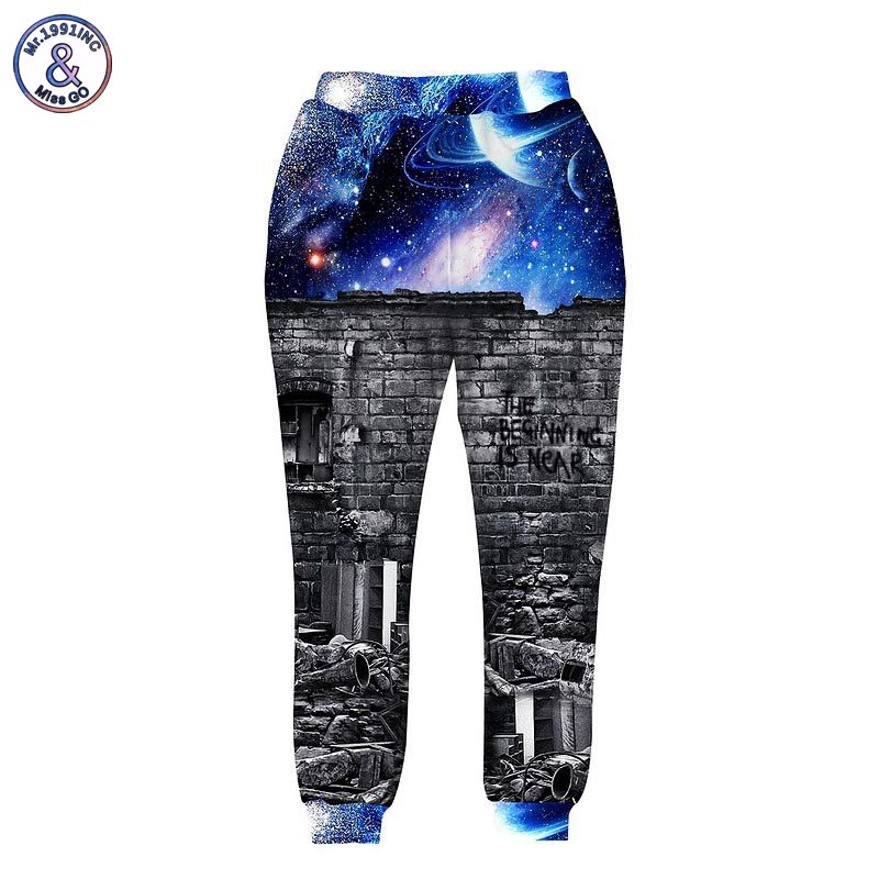 Men's Clothing Mr.1991inc New Fashion Men/womens Sweatshirts 3d Print A Person Watching Space Meteor Shower Casual Galaxy Hoodies