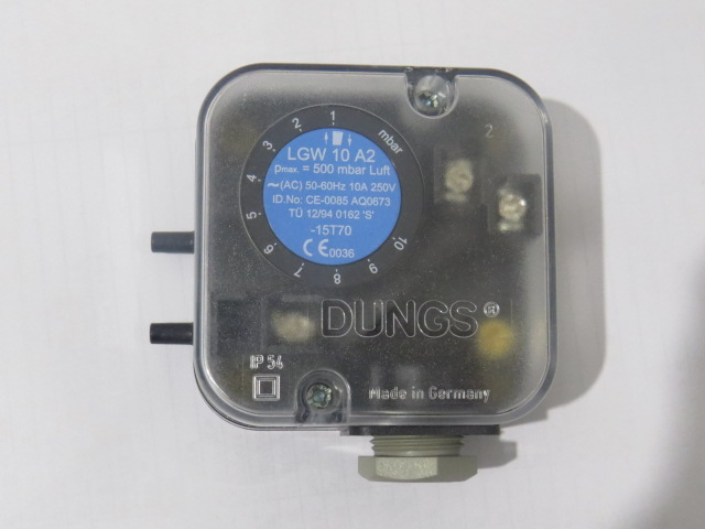 New Arrival Original Dungs Air Pressure Switch LGW10A2 For Burner New new arrival gas pressure switch qpl25 003 for burner new original