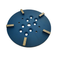 GD57 D250mm Concrete Grinding Wheel 10 Inch Diamond Grinding Plate Polishing Disc for Concrete Terrazzo Floor 3PCS