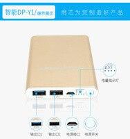 Doublepow Popper 10000 mAh Polímero de Carga Mini Teléfono Móvil Portátil de Energía Móvil, batería Externa, fuente de alimentación de reserva