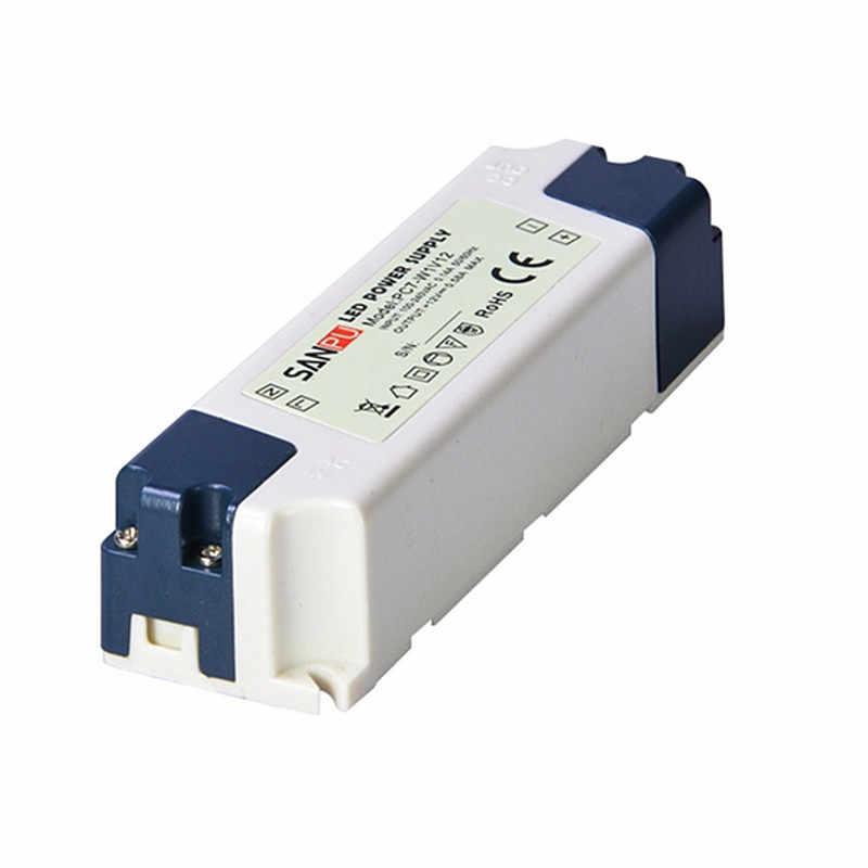 DC12V 15 Вт 35 Вт 60 Вт светодио дный Мощность адаптер Освещение Трансформеры DC24V 35 Вт 60 Вт высокое качество светодио дный драйвер Питание для Светодиодные ленты свет