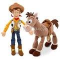 История игрушек Вуди 28 см и Bullseye Лошадь 22 см Мини Плюшевые игрушка с A-N-D-Y Симпатичные Чучела Животных Игрушки Куклы для Детей подарки