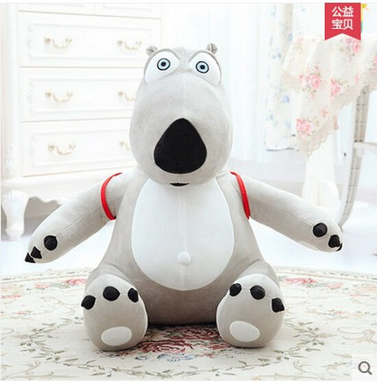 Guaranteed 100% Genuine cotton 1PCS/BAG kids Toy 30cm unlucky backkom Bear baby plush dolls,cartoon bear free shipping