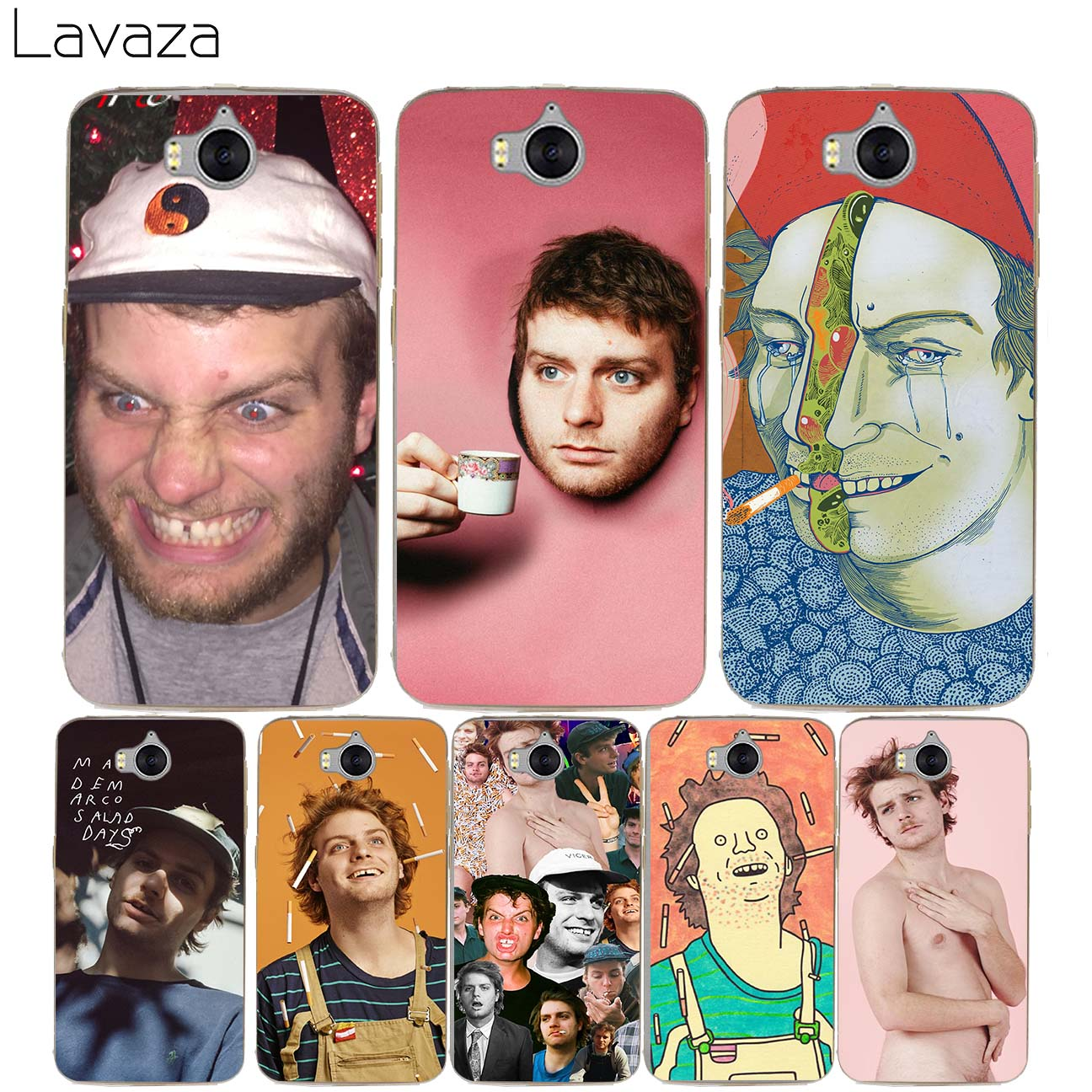 Lavaza Mac DeMarco Case for Huawei Honor Nova 2 2i 2s 9 8 lite 7 7X 6 6C 6X 6A Y7 Y6 Y5  ...