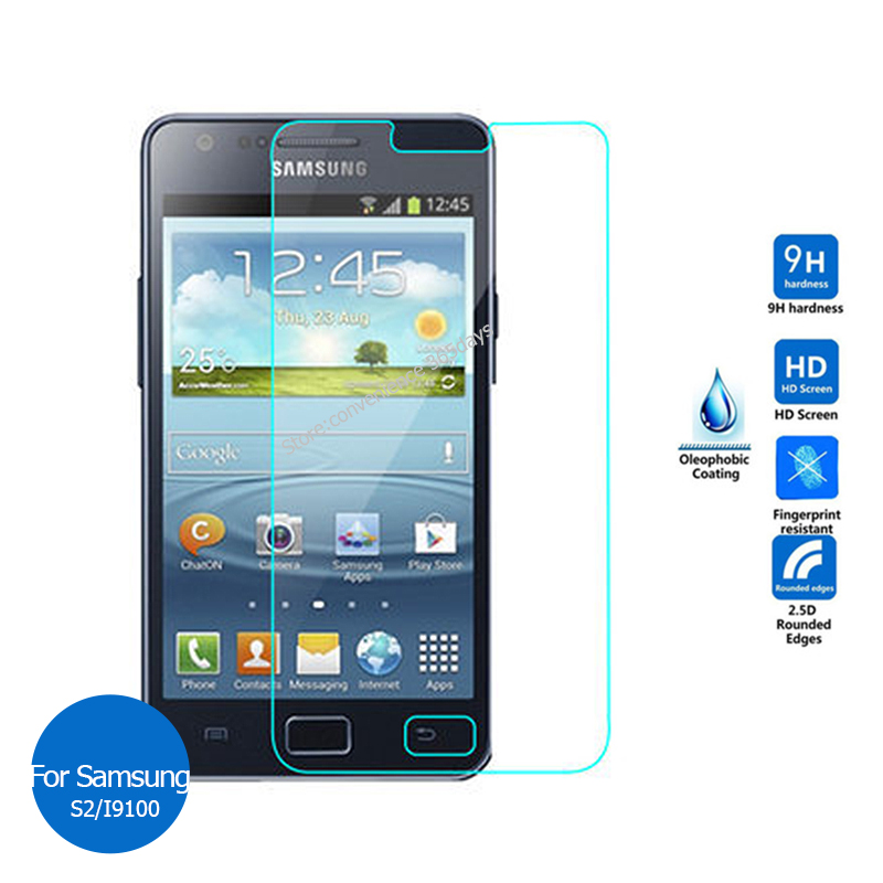 Tempered Glass For Samsung Galaxy S2 S3 Neo Plus S4 Mini S5 Zoom Active Screen Protector 2.5 Safety Protective Film On S 2 3 4 5