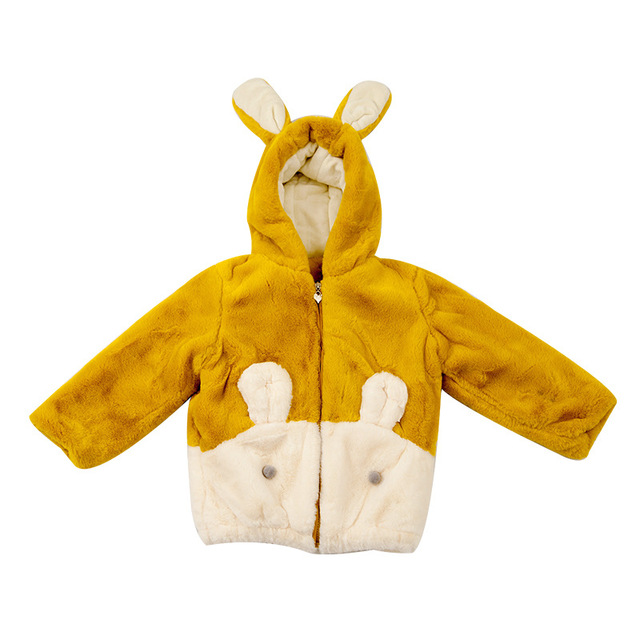 Promo Mode Hiver épaissir Coton Chaud Enfant Manteau Dessin
