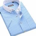 Men's summer short-sleeved shirt Slim leisure and business non-iron shirt
