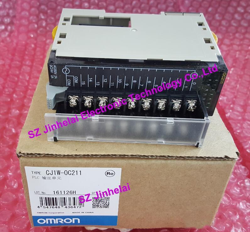 New and original CJ1W-OC211 OMRON PLC output unit 100% new and original cj1w od213 cj1w 0d213 omron plc output unit