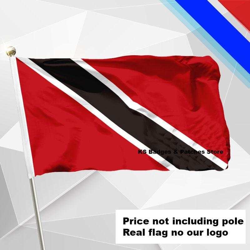 #1 288x192 #2 240x160 #3 192x128 #5 96x64 #6 60x40 #7 30x20 Ks-0175-c Sporting Trinidad-tobago Flagge Fliegen Flagge #4 144x96 3x5ft