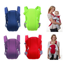 цены на Breathable Front Facing Baby Carrier Comfortable Sling Backpack Pouch Wrap Baby Kangaroo Adjustable Safety Carrier в интернет-магазинах