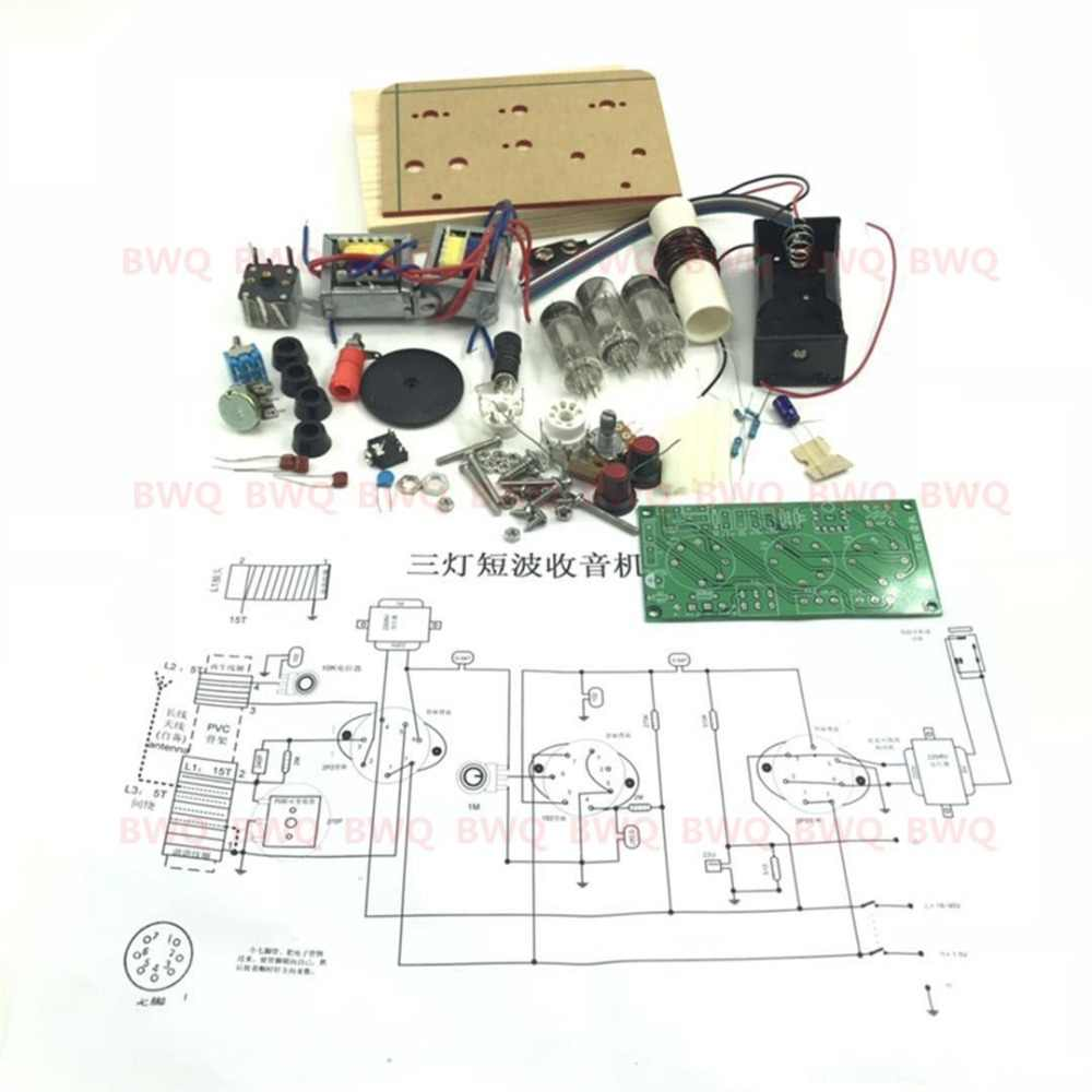 medium resolution of detail feedback questions about 1pcs lot five wave band three lamp tube shortwave radio kit with base kit free shipping on aliexpress com alibaba group