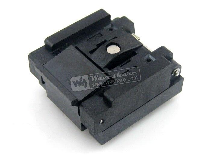 Parts QFN-48(56)B-0.5-01 Enplas QFN48 MLP48 MLF48 IC Test Socket Programming Adapter 51125 tps51125rger qfn