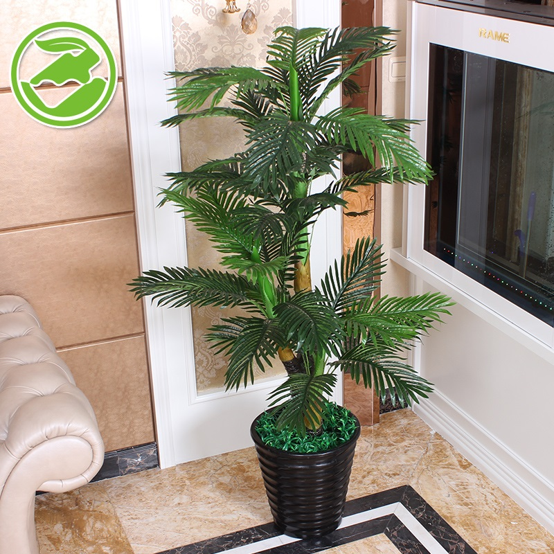 1.6 Fake Tree Simulation Plant Tree Bonsai Tree And Plants Living Room  Floor Office Decorated Flower ...
