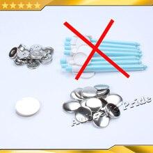 """100 наборов """" 25 мм плоская стальная Кнопка значка+ майлар+ спина+ мороженница металлические материалы для блях магнитная ручка для холодильника кнопка"""