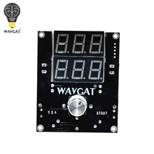 WAVGAT DC-DC Digital Voltage Regulator Buck Step Down Power Supply Module 5-36V to 1.3-32V High Voltage Power Supply VHM-100 1pcs dc dc 6 32v to 0 32v step down module adjustable cnc step down voltage buck power supply module lcd display converter 5a