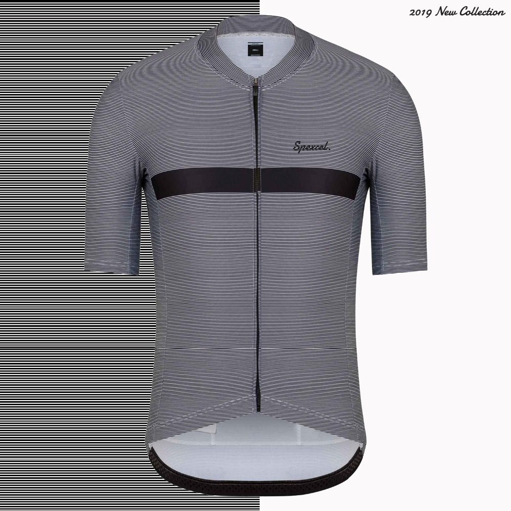 SPEXCEL 2019 New Collection Pro Fit Cycling Jersey Short Sleeve Road Mtb Cycling Gear Lightweight Cycling Shirt With YKK Zipper