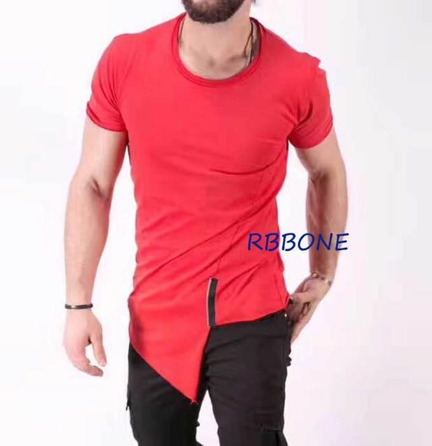 92414764f Hot red tshirt 2018 tee t shirt streetwear Men/women fashion Tyga Fashion  Chris brown T-shirt Tyga ktz oversize style hiphop