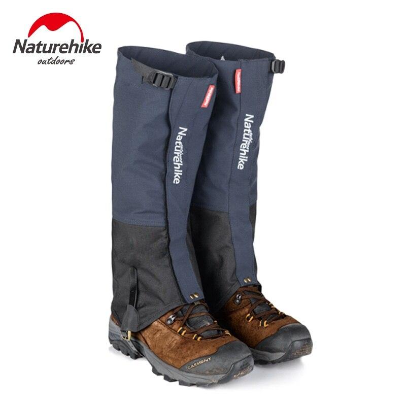 Naturehike outdoor Hiking Trekking Gaiters shoes cover Camping hiking climbing skiing Waterproof boots Gaiters snow leg warmer