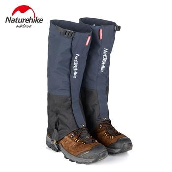 Naturehike outdoor piesze wycieczki Trekking getry pokrowiec na buty Camping piesze wycieczki wspinaczka narciarstwo buty wodoodporne getry śnieg ocieplacz na nogi tanie i dobre opinie NYLON Satin Jazda na rowerze NH17A001-D Average