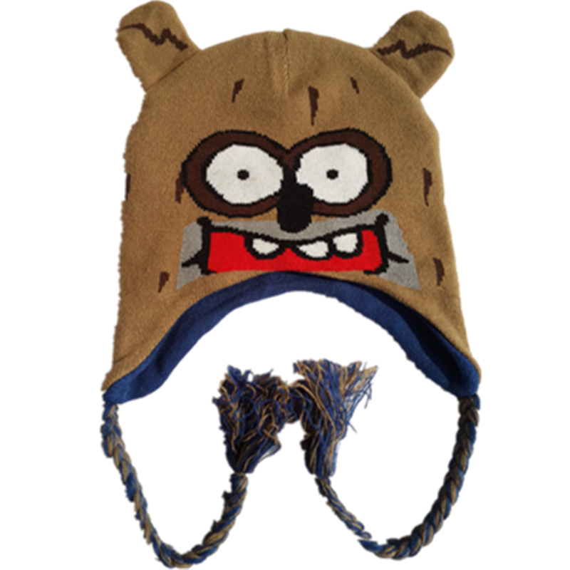 Regular Show Anime theme fashion leisure Cosplay Costume teens children adult Halloween Raccoon Rigby reversible Hat Beanies Cap sosw fashion anime theme death note cosplay notebook new school large writing journal 20 5cm 14 5cm