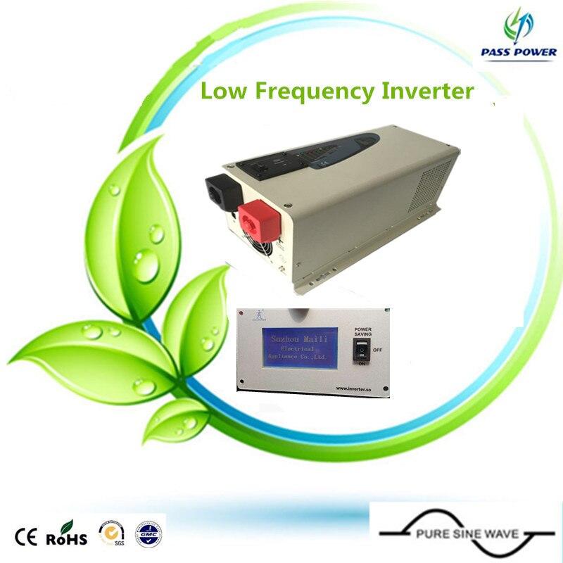 CE,ROHS  approved, 12v 110v Solar Inverter Wind Inverter Low Frequency Inverter 3000W