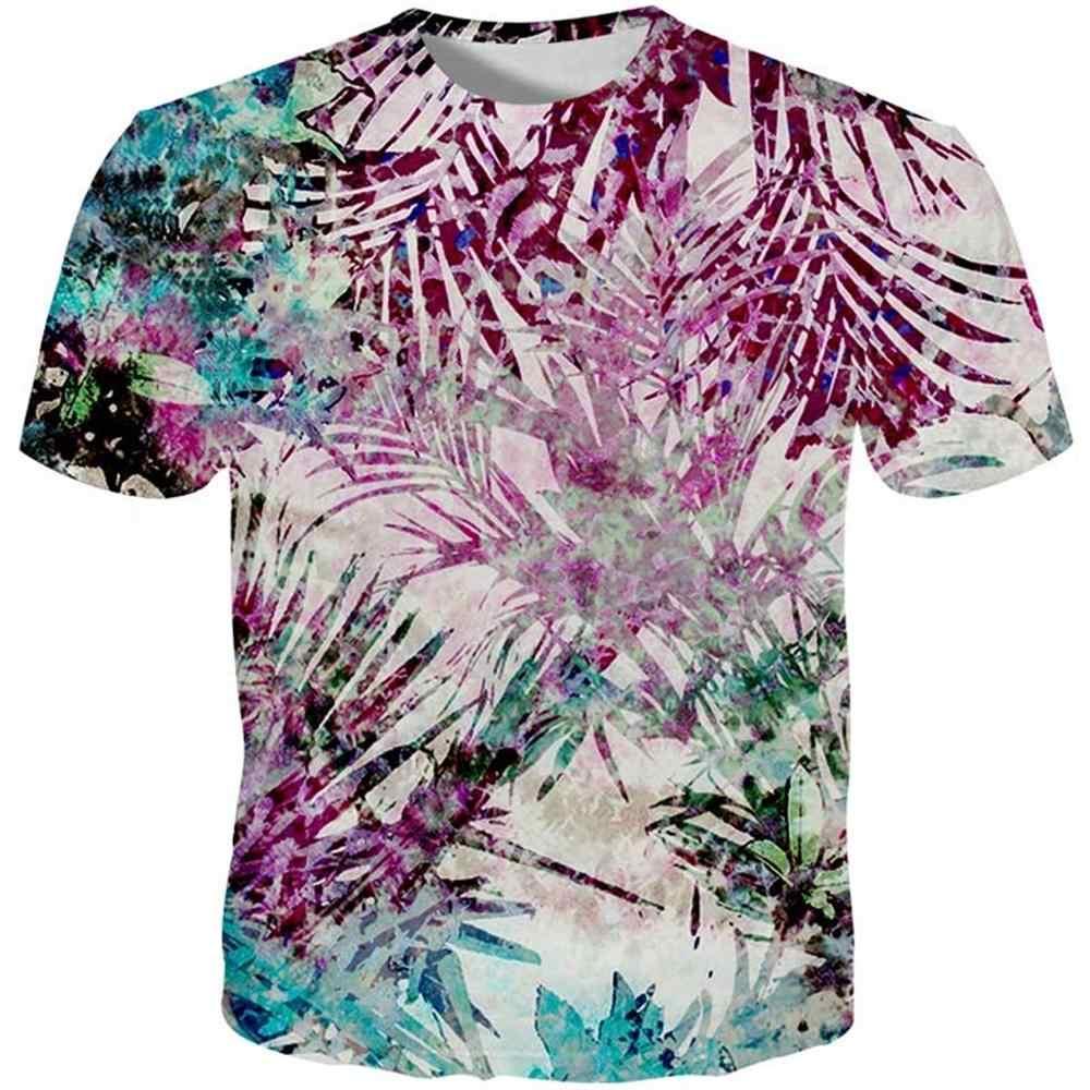Cloudstyle 2019, 3D, яркое, цветочное, мужские футболки Harajuku, повседневные, мужские футболки с рисунком, розовые футболки, мужские футболки по индивидуальным заказам, топы